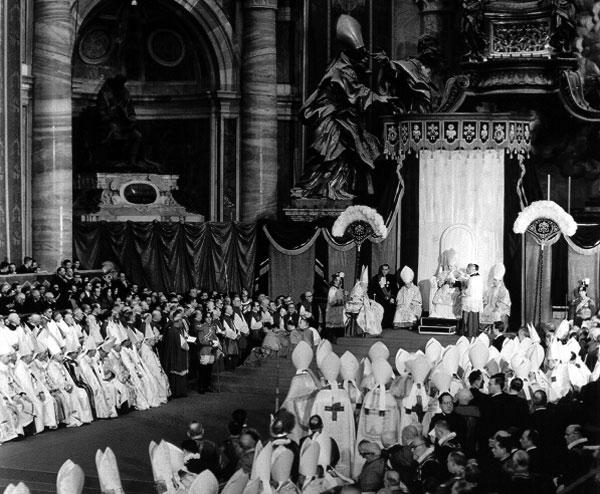 Papa Giovanni XXIII annuncio del concilio